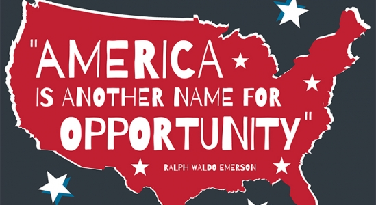 Read more about the article America Is Another Name for Opportunity [INFOGRAPHIC]