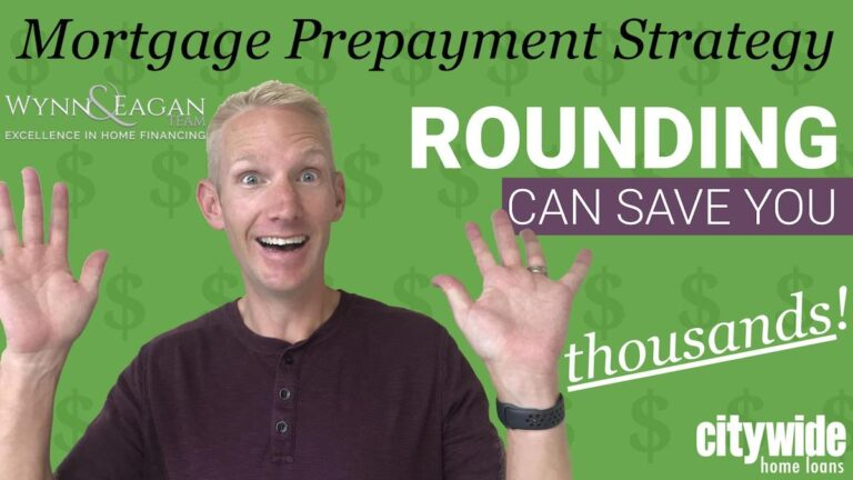 Mortgage Prepayment Strategy: Rounding Can Save You Thousands!